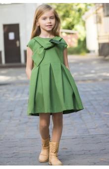 Пишна сукня з бантом