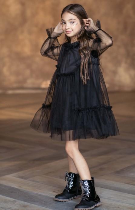 """Платье """"Fairytale"""" черное"""