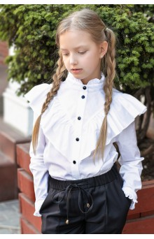 Блуза біла святкова