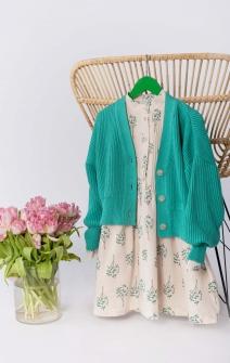 Сукня-сорочка кремова
