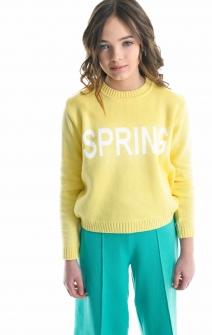 Светр Spring лимонний