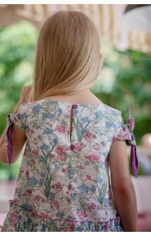 Сукня волошкова фіолетова