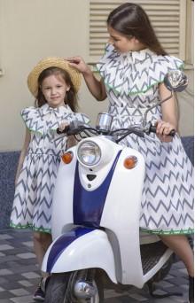 """Сукні для мами і донечки """"Зигзаг"""""""